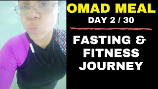 Eating One Large Meal A Day To Lose Weight | OMAD Diet | Intermittent Fasting Journey 2020