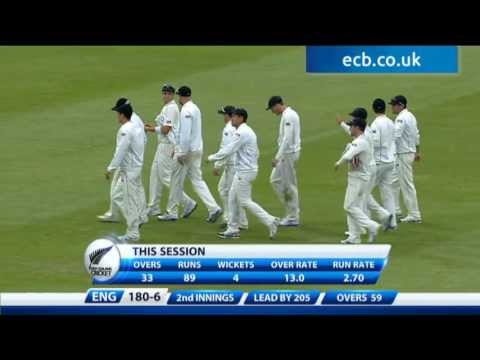 Highlights England v New Zealand - Day 3 Evening Session at Lord's