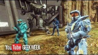 Geek Week: Red vs. Blue Blockbuster Trailer | Rooster Teeth