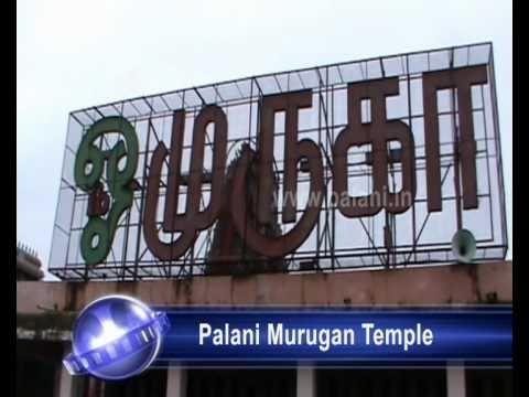 Palani Murugan Temple Video Palani Murugan Temple