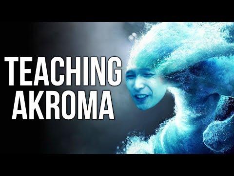 TEACHING AKROMA HOW TO PLAY MONKEY KING ◄ SingSing Dota 2 Highlights