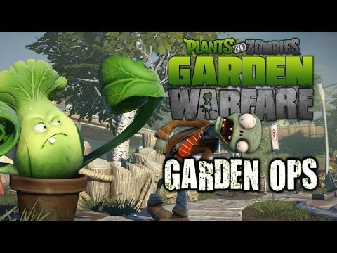 Plants Vs Zombies Gameplay Garden Ops - Life Inside A Coffin [Yeti. Gargantuar. Wave 10]