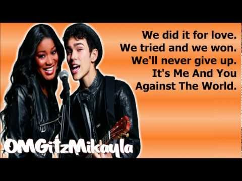 Keke Palmer & Max Schneider - Me And You Against The World (Full Studio Version) - Lyrics (DL Link)
