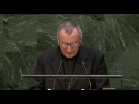 Message from Pope Francis, United Nations
