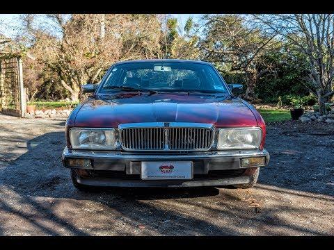 1988 Jaguar XJ40 Sovereign - Waimak Classic Cars - New Zealand