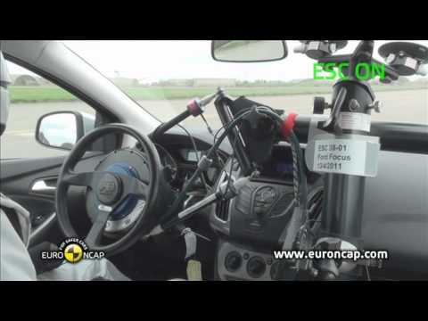 Euro NCAP | Ford Focus | 2011 | Электронный контроль устойчивости