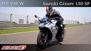 Suzuki Gixxer 150 SF Review | Hindi | MotorOctane