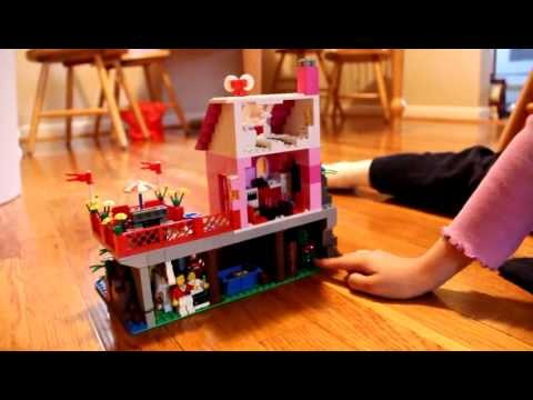 Make your own lego house online game