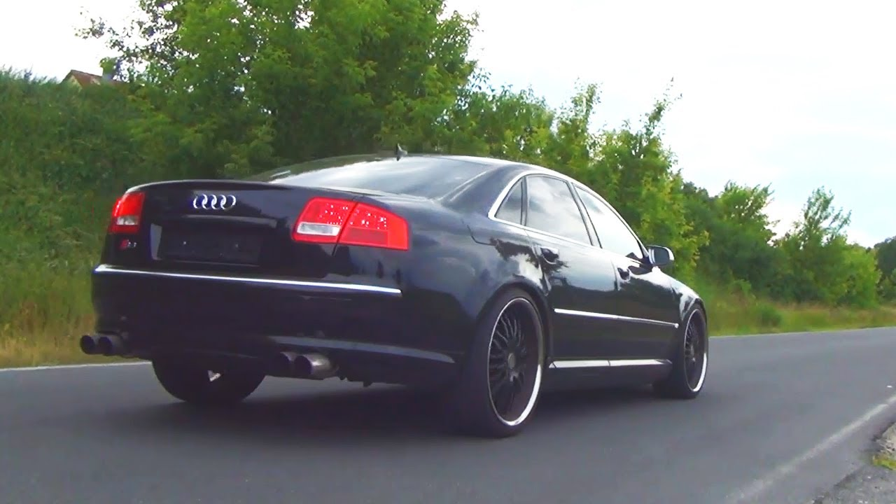 audi s8 v10 kickdown acceleration exhaust sound 4e quattro fly by beschleunigung revving revs. Black Bedroom Furniture Sets. Home Design Ideas