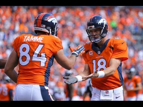 Denver Broncos beat Kansas City Chiefs 24-17! Peyton Manning throws 3 Touchdowns!