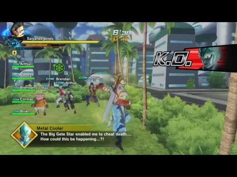 Dragon Ball Xenoverse 2 : Time Breaker Metal Cooler Expert Mission