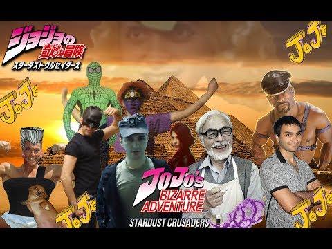 JoJo's Bizarre Adventure: Stardust Crusaders/ Аниме Разбор на Жожу сезон 3