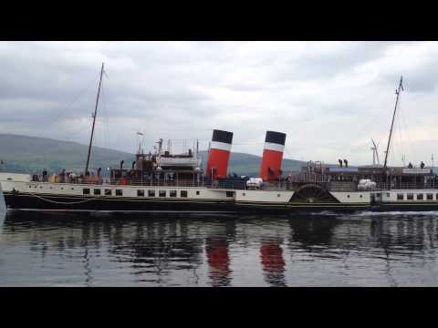 P.S. Waverley arriving at Keppel (Millport), Isle of Cumbrae - June 26th, 2014