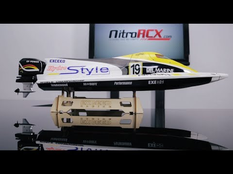 New Exceed Formula 1 Electric Racing Boat Overview