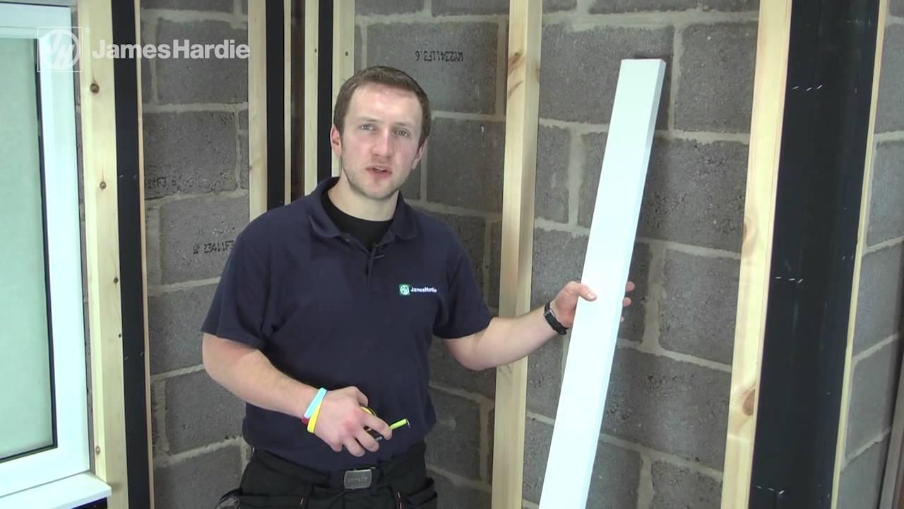 James Hardie 174 Hardieplank 174 Cladding Full Installation Youtube