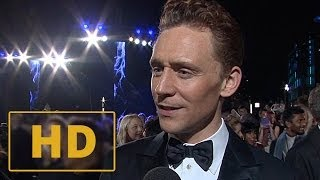 Thor: The Dark World Premiere - Tom Hiddleston Interview HD (2013)