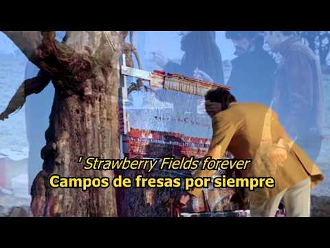 Strawberry fields forever - The Beatles (LYRICS/LETRA) [Original]