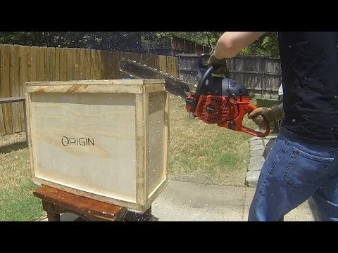 Chainsaw Unboxing of a $5,000 Origin PC!