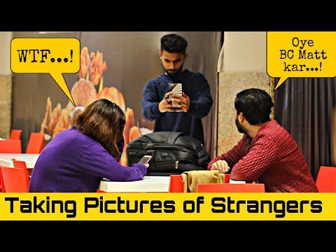 Taking Pictures of Strangers   Amanah Mall   Prank In Pakistan