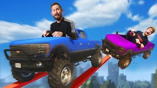 GIANT Truck Obstacle Course!   GTA5