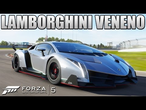 Forza 5 - Lamborghini Veneno Review - The Best Car I've Ever Driven? - July DLC