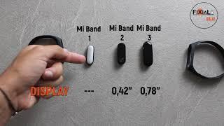 La sfida degli smartband Xiaomi: Mi band 3 VS Mi band 2 VS Mi band 1