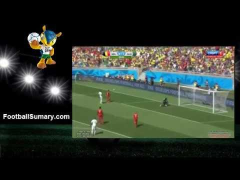 2014 World Cup Belgium 2 - 1 Algeria all Goals and Highlights