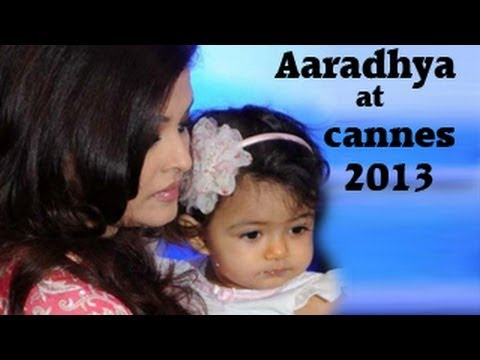 Aaradhya Bachchan's red carpet DEBUT with Aishwarya Rai at Cannes 2013.