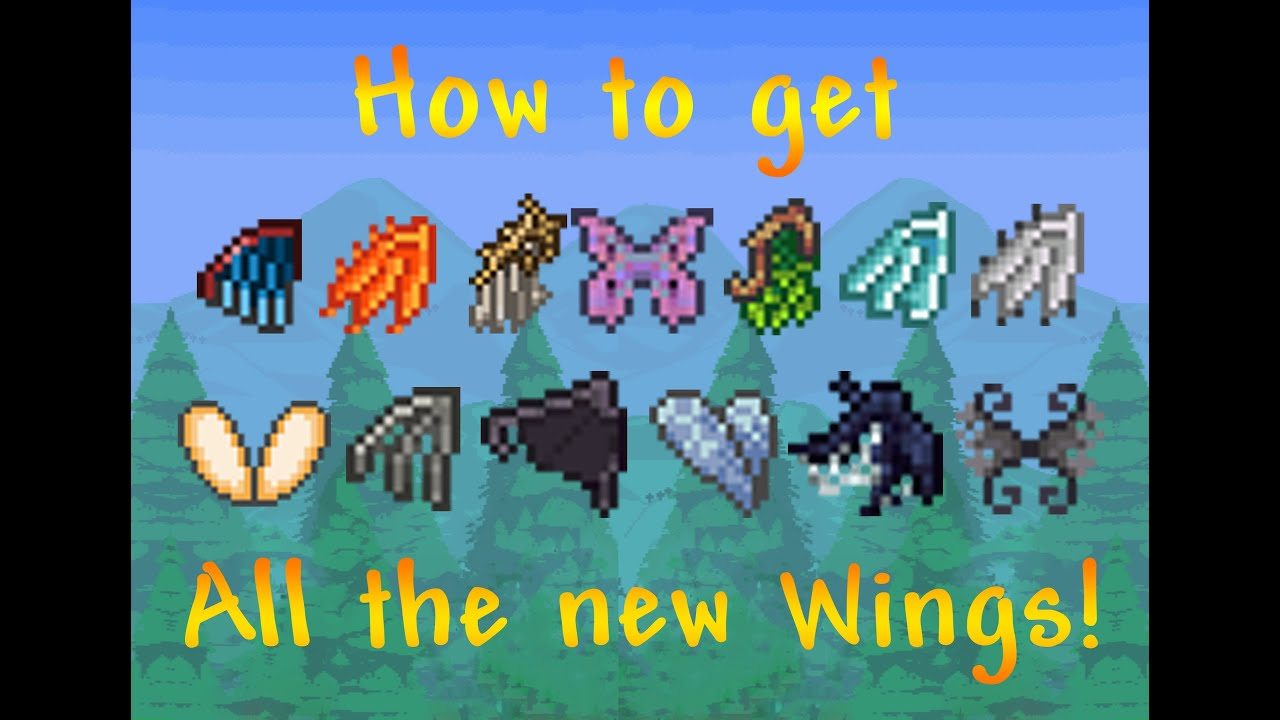 How To Craft Fairy Wings In Terraria Ios