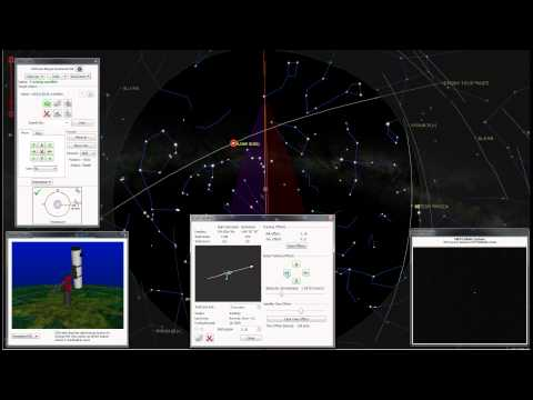 Satellite tracking AJISA (EGS) Paramount MX live video TheSkyX