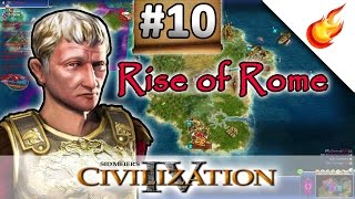 Getting Rekt By Greece - RISE OF ROME SCENARIO - CIVILIZATION 4 Warlords - Part 10