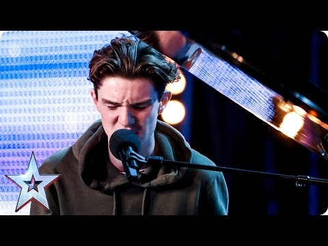 Harry Gardner breaks hearts with song for his nan  Auditions Week 4  Britain's Got Talent 2017