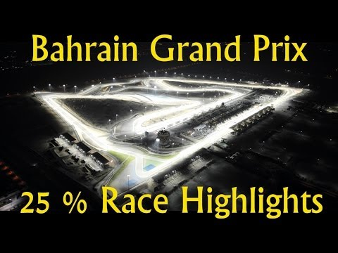 F1 Bahrain Grand Prix Highlights with Team Radio