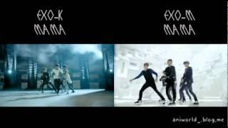 EXO K EXO M MAMA MIX without intro animation MAMA Korean Chinese Mix Ver