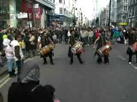 Punjabi Dhol: Oxford Street Festival '07 video