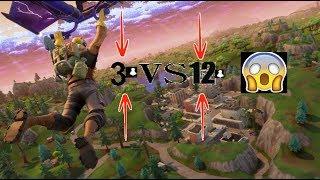 (4 VS 19) ONT FAIT LE CLUTCH?!! -Fortnite Battle Royale-