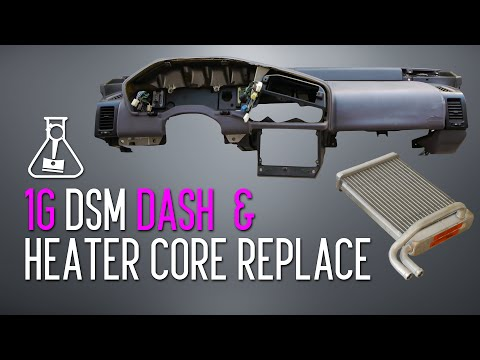 1G DSM Dash & Heater Core Replacement Tutorial