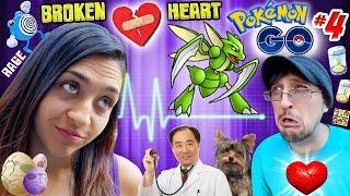BROKEN HEART!!  Pokemon GO ⚡ RAGE ⚡ + BAD NEWS from DOCTOR ☠ (FGTEEV Part 4 NO POKE BALLS Gameplay)