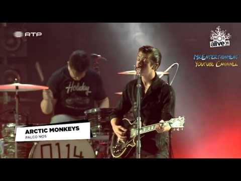 Arctic Monkeys Library Pictures Live @ NOS Alive 2014