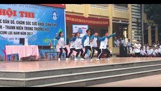 Học sinh trường THPT Lục Nam nhảy Save Me cực chất - Dance Save me