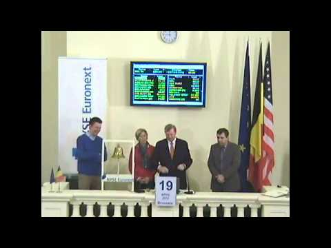 "Bell Ceremony to Celebrate the Launch of the Twitter Account ""bourse.be""/""beurs.be"""