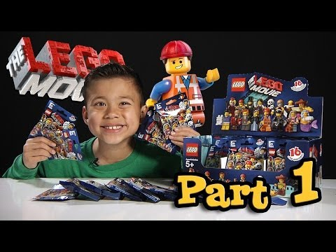 Search for LEGO MOVIE MINIFIGURES!!! Box of Blind Bags Opening - PART 1
