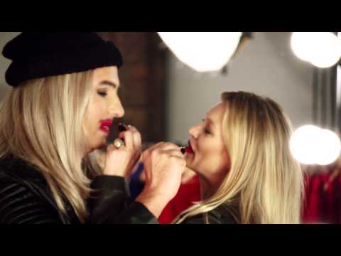 Kate Moss & David Walliams Get The Red Nose Look | Rimmel London for Red Nose Day