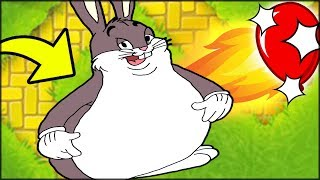 🐰🐰 So They Added BIG CHUNGUS in Bloons 😂😂