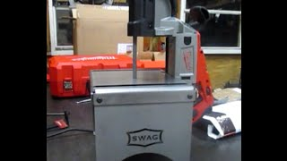 Swag Off Road Portable Band Saw Table Review