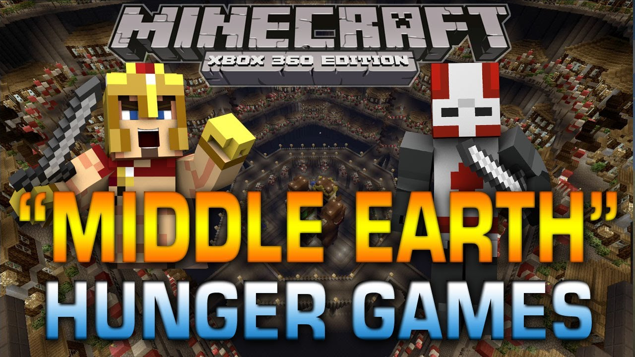 Xbox 360 Hunger Games : Minecraft xbox quot middle earth hunger games w subs
