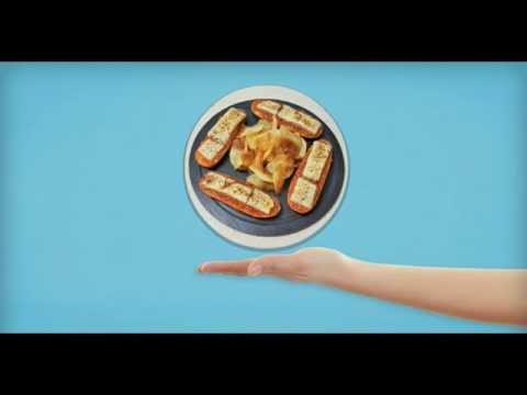 Vídeo-receta de Publipan LPGC: Montadito de chorizo de Teror con miel y queso ahumado gratinado
