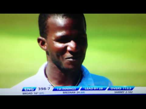 Darren Sammy worst delivery in test cricket