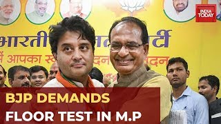 M.P Political Crisis: BJP Demands Floor Test In Madhya Pradesh Assembly