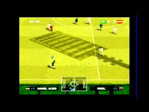 Versão PS2 do PES 2012 (Gameplay comentada)